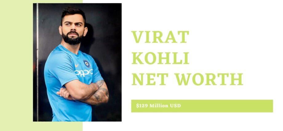 Virat Kohli Net Worth-Salary-Charity