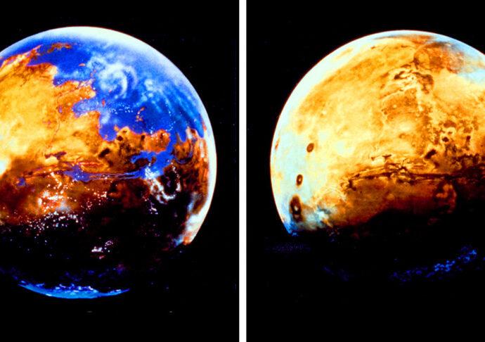 Mars vanished